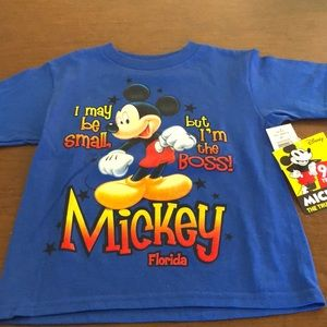 Disney Mickey Mouse T-shirt 3T